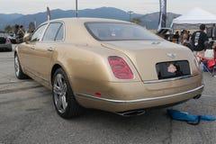 Bentley Mulsanne Sinjari on display Royalty Free Stock Photography