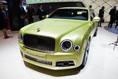 Bentley Mulsanne Speed Royalty Free Stock Photos