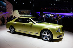 Bentley Mulsanne Speed Stock Photo