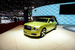 Bentley Mulsanne Speed Royalty Free Stock Photo
