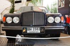 Bentley Mulsanne Turbo, coches de la vendimia Foto de archivo libre de regalías
