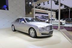 Bentley mulsannebil Arkivfoton