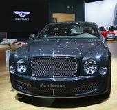Bentley Musanne car Stock Photo
