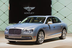 Bentley 2015 NAIAS Detroit Auto toont Stock Foto