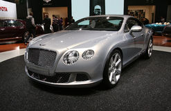 Bentley neues kontinentales GT Stockfotografie