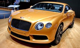 BENTLEY neues kontinentales GT V8 Stockbild