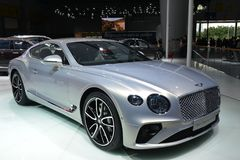 Bentley New Continental GT sports car Stock Image