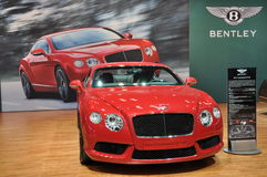 Bentley New Continental GT V8 Stock Image