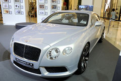 BENTLEY New Continental GT V8 Stock Photos