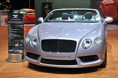 Bentley New Continental GTC V8 Stock Photos