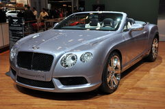 Bentley New Continental GTC V8 Stock Images