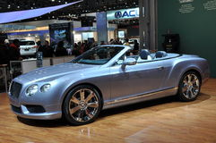 Bentley New Continental GTC V8 Royalty Free Stock Photography