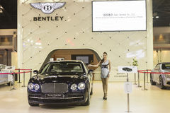 Bentley The new Flying Spur Car Royalty Free Stock Photos