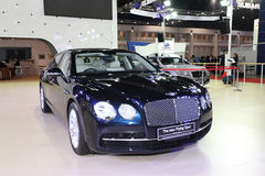 Bentley The New Flying Spur car on display Stock Images