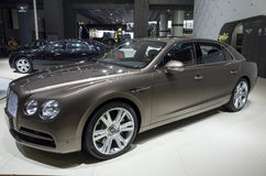 BENTLEY New Flying SPUR Stock Images