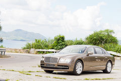 Bentley The New Flying Spur 2013 Model Royalty Free Stock Image