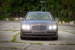 Bentley The New Flying Spur 2013 Model Stock Photos