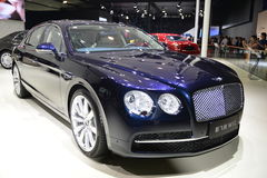 Bentley new Flying Spur W12 supercar Stock Image