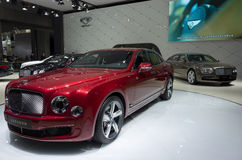 BENTLEY New MULSANNE SPEED Royalty Free Stock Photography