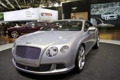 Bentley Nieuw Continentaal GT in de Show van de Motor van Parijs royalty-vrije stock fotografie