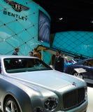 Bentley nos carros de IAA Imagem de Stock