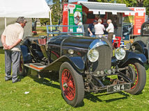 Bentley open tourer on show at Forres Theme day. Stock Photo