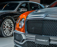 Bentley par Mansory Photographie stock libre de droits