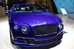 2015 Bentley przy Detroit Auto przedstawieniem obraz stock
