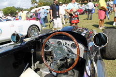 Bentley racer cockpit Royalty Free Stock Image