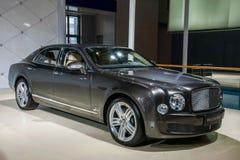 Bentley samochodu serie Zdjęcie Royalty Free