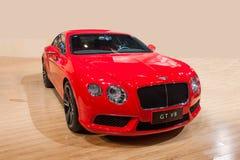 Bentley Series-Auto Chongqing Auto Show stockfotos