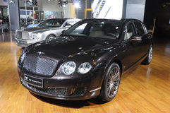 Bentley Speed. British famous brand,Bentley,Speed sport car, in its exhibition hall,in 2010 international Auto-show GuangZhou. it is from 20/12/2010 to 27/12/ Stock Images