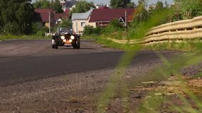 Bentley Sports Special vintage car. 1920s, 1930s, 1940s, before second world war. Stock footage stock footage