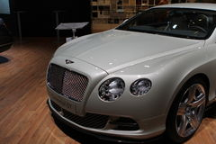 Bentley su 64rd IAA Fotografia Stock Libera da Diritti