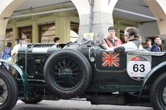 Bentley sur 1000 milles 2014 photos libres de droits
