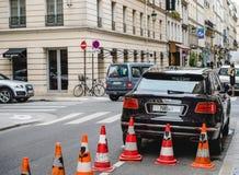 Bentley SUV in der Stadt Lizenzfreies Stockbild