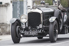 Bentley4.5 Van de Plas open tourer1928 Stock Photos