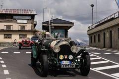 Bentley verde 3 litros Foto de Stock Royalty Free