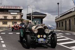 Bentley vert 3 litres Photo libre de droits