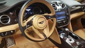 Bentley-vrachtwagenbinnenland van een genie royalty-vrije stock foto