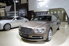 The bentley w12 new mulliner car Stock Photos