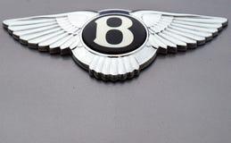 Bentley Zeichen Lizenzfreie Stockfotos