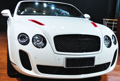 Bently. New white luxury bently  car Stock Photo