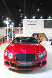 BENTLY. Boot in The 35TH Bangkok International Motor Show 2014, Thailand Stock Photos