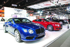 Bently. Boot in Thailand Motor Expo 2013 Stock Images