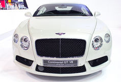Bently Car Continental GT V8 Model. Royalty Free Stock Photo