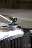 Bently. Classic Handcrafted Bently With the Famous Winged Emblem Mascot Royalty Free Stock Images