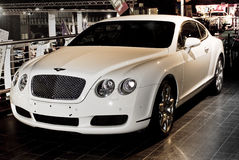 Bently Continental GT Mulliner Coupé - MPH. Bentley Motors was founded by W.O. Bentley in 1919 Royalty Free Stock Photo