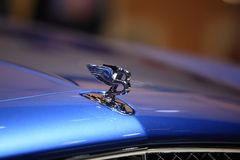 Bently. On  the motor show Royalty Free Stock Images