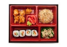 Bento午餐 免版税库存图片